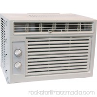 Comfort-Aire RG-51M 2-Way Room Air Conditioner, 5000 BTUH, 136 cfm, 100 - 150 sq-ft, 1.27 pt/hr