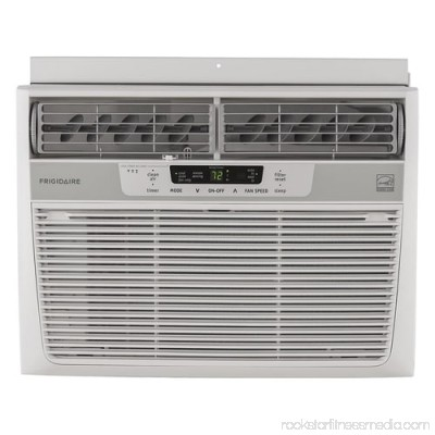 Frigidaire FFRE1233S1 12,000 BTU 115V Window-Mounted Compact Air Conditioner with Temperature Sensing Remote Control 555270547