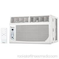 Impecca IWA08KR15 8000 BTU 120 Volt Window Air Conditioner with 3 Fan Speeds and
