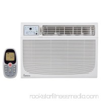 Impecca IWA15KS30 15100 BTU 120 Volt Window Air Conditioner with 3 Fan Speeds and Remote Control