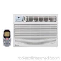 Impecca IWAH25KRB 25000 BTU 240 Volt Window Air Conditioner with 24700 BTU Heater and 3 Fan Speeds