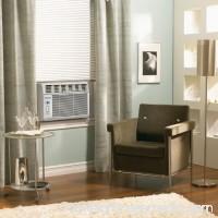 Keystone KSTAW05C 5,000 BTU 115V Window-Mounted Air Conditioner with Follow Me LCD Remote Control 555349055