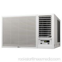LG LW1216HR 12,000 BTU 230V Window-Mounted Air Conditioner with 11,200 BTU Supplemental Heat Function   555379300
