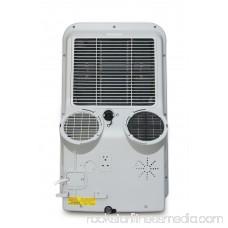 12,000BTU Dual-Hose System Portable Air Conditioner, White 551114681
