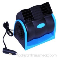 12V Portable Car Cooling Air Fan Air - Conditioner Car Fan Speed Adjustable Silent Air Conditioner Without Blades