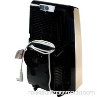 Amana 12,000 BTU Portable Air Conditioner with Remote Control in Gold/Black   565272546