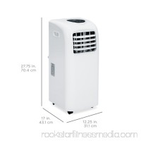 Best Choice Products 3-in-1 10,000 BTU Portable Air Conditioner Cooling Fan Dehumidifier w/ LED Display, Remote Control