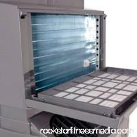 EdgeStar Extreme Cool 14,000 BTU Dual Hose Portable Air Conditioner & Heater - Black