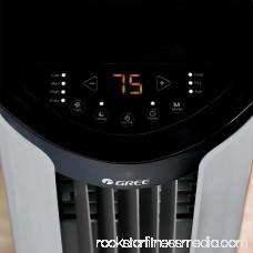 Gree 3-IN-1 400-SQ FT Portable Air Conditioner (115 Volt, 9,000 BTU) - GRP-E09SH-R4W 566585994