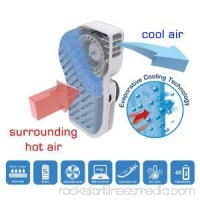 High Quality Portable Small Fan & Mini-Air Conditioner Stay Cool Handy Cooler Speed Adjustable Grey