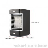 Portable Quiet Evaporative Air Cooler Indoor Air Conditioner with 2-Speed Fan & Humidifier, Battery Operated