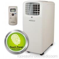 Soleus Air 12,000 BTU 3x1 Machine Self Evaporative Portable A/C , Dehumidifier and Fan. Single hose (Cooling Only)