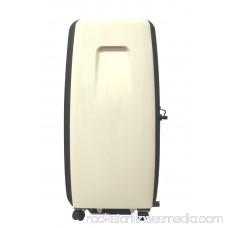 Sunpentown WA-8070E 8,000-BTU Room Portable Air Conditioner, Black/Tan 551911664