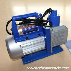 5CFM1/3HP Single Stage Rotary Vane Deep Vacuum Pump Air Conditioning Tool 568964805