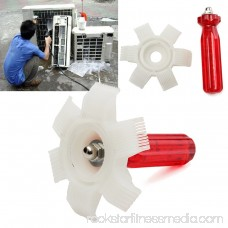 6 IN 1 Air Conditioner Radiator Condenser Fin Comb A/C Fin Comb Straightener Cleaner Tool