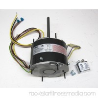 Air Conditioner Condenser Fan Motor Totally Enclosed (TENV) 1/4 HP 230 Volts 1075 RPM Ball Bearing Single Speed for Fasco D7909 Capacitor Included