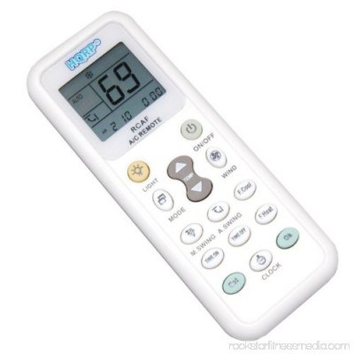 HQRP Universal A/C Remote Control for TADIRAN Air Conditioner / Fahrenheit displaying plus HQRP Coaster