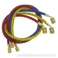 """Robinair ROB30072 72"""" A/C Charging Hoses with .25"""" Standard Fittings- Set of 3"""