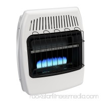 Dyna-Glo 20,000 BTU Natural Gas Blue Flame Vent Free Wall Heater   554569881