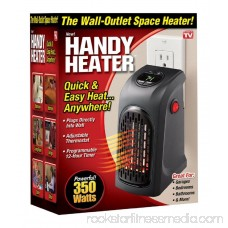 Handy Heater Plug-In 350 watts Wall Heater Electric Air Radiator Warmer Bathroom
