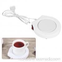 Heater Pad,110V  White Electric Powered Cup Warmer Heater Pad Coffee Tea Milk Mug US Plug