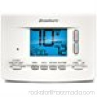 Braeburn 2020 Digital 5/2 Programmable Thermostat with 3 Square Inch Area Display and Sing Stage Heating / Cooling