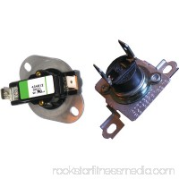 Dryer Thermostat Thermal Fuse Kit for Whirlpool 279973 Kenmore 90 AP3094323 PS334387 555901256