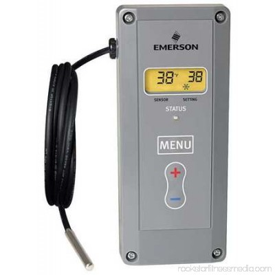 EMERSON Electronic Temp Control,24 to 240VAC 16E09-101