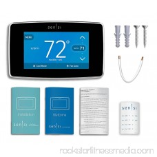Emerson Sensi ST75 Touch Wi-Fi Thermostat with Touchscreen Color Display for Smart Home 566366089