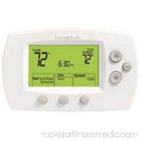Honeywell Focuspro 6000 5-1-1/5+2-Day Programmable Thermostat, 1 Heat/1 Cool, Large   567615236
