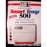 Lux TX500E Smart Temp™ Programmable Thermostat