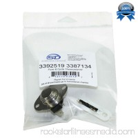Supplying Demand 3387134 3392519 Dryer Thermostat & Fuse Kit Fits Whirlpool