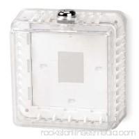 Unvrsl Thermostat Guard,Off-White,Plstc 3TZ57