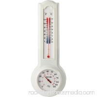 Vertical Indoor Humidiguide Thermometer