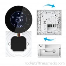 WiFi Control Negative LCD Touchscreen Programing Thermostat Boiler Heating Temperature Controller NTC Sensor 3A