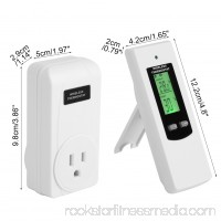 Wireless Thermostat Plug Automatic Temperature Controller Plug & Play Remote Control High/Low Temperature
