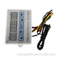 ZFX-ST3008 Multifunction Temperature Control Switch Intelligent Digital Thermostat Temperature Controller Three Display