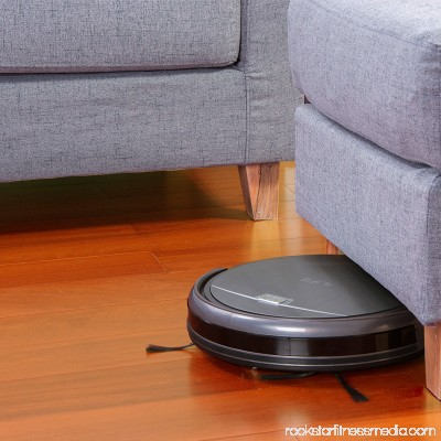 ILIFE A4s Robot Vacuum Cleaner With DoubleVTangle Free Roll Brush With Max Mode Great For Undercoat Carpet