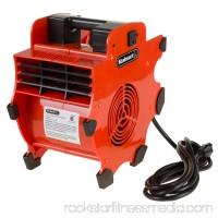 Portable Adjustable Industrial Fan Blower- 3 Speed Heavy Duty Mechanics Floor and Carpet Dryer By Stalwart   566483025