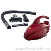 600-Watt Red Fuller Brush Mini Maid Vacuum Cleaner with Ergonomic Handle