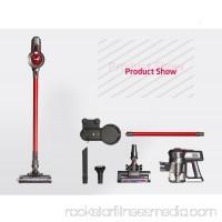 Dibea C17 2-in-1 Wireless Vacuum Cleaner, RED
