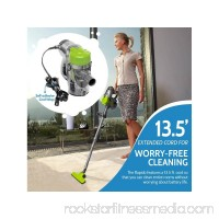 ROLLIBOT Rapido Ultra-Light Corded Stick Handheld Vacuum Cleaner 6 Attachments