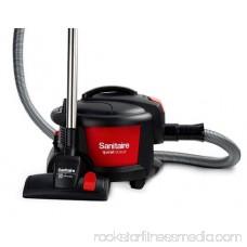 Sanitaire Quiet Clean Canister Vacuum - 1 Kw Motor - 9 A - Black (SC3700)