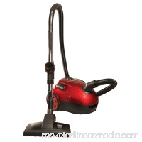 The Bank ROBBER Powerful Compact Canister Vacuum with 20' Retractable Cord, Rubber Wheels and Wessle-Werk Attachments   556386749