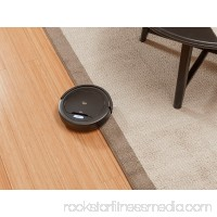 Monoprice Strata Home Cadet Robotic Vacuum Cleaner High Suction for Pet Fur, & Allergens  Auto Cleaning and Drop sensing Technology designed for Hard Floor & Carpet