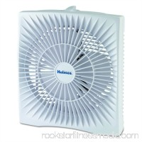 Holmes Products 10 Personal Size Box Fan, Plastic, White HABF120W-N