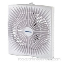 Holmes Products HABF120WN 10 in. Personal Size Box Fan - Plastic, White