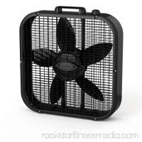 "Lasko Decor Colors 20"" Box Fan in Black   552720685"