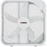 Lorell 3-speed Box Fan, White