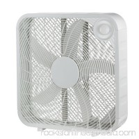 Pelonis FB50-16H 20 White Plastic 3-Speed Box Fan 557501538